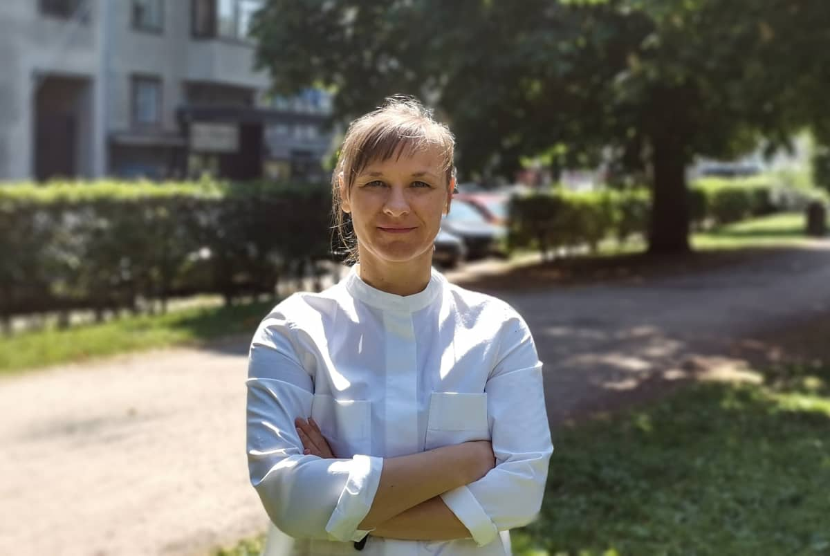 Helsingin yliopiston tutkija Katja Kahlina