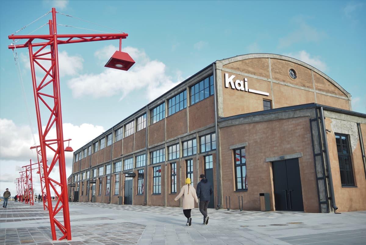 Nykytaidekeskus Kai on yksi Tallinnan uusista nähtävyyksistä.