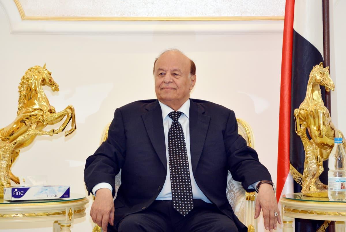 Jemenin presidentti Abdo Rabbo Mansour Hadi