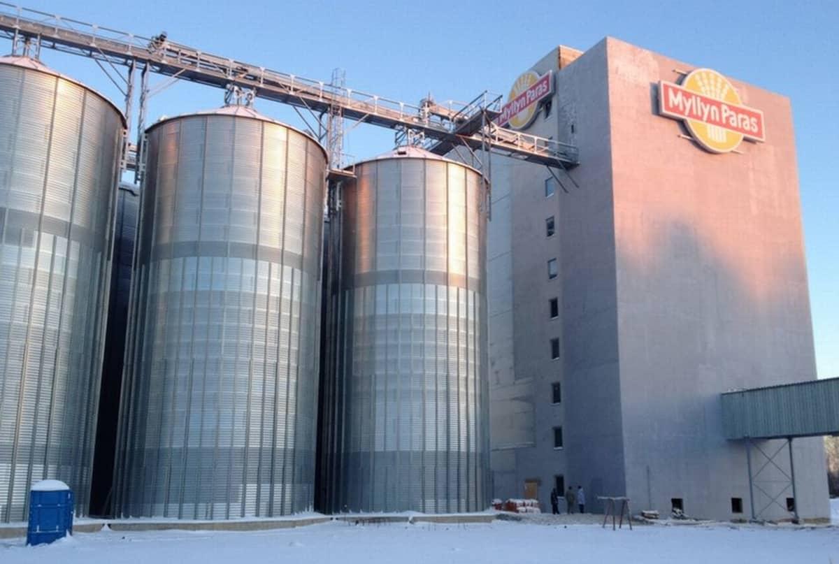 Myllyn Paras Oy:n Venäjän tuotantolaitos.