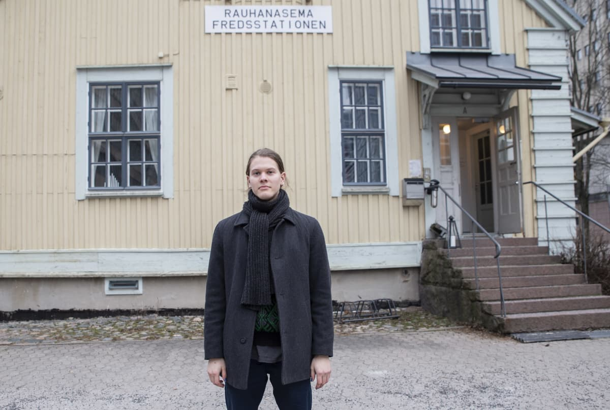 Samuel Metsänen / hallituksen jäsen / aseistakieltäkieltäytyjäliitto ry / rauhan asema 26.12.2020
