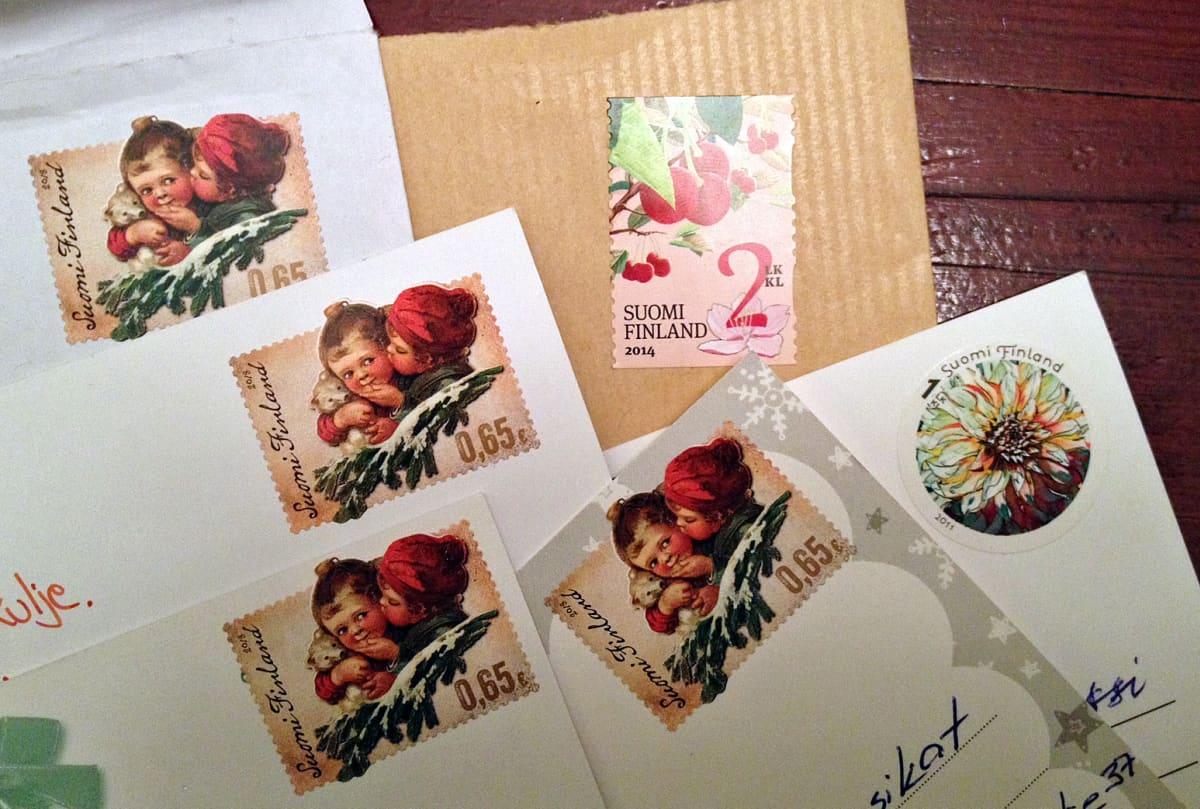 Leimaamattomia postimerkkejä