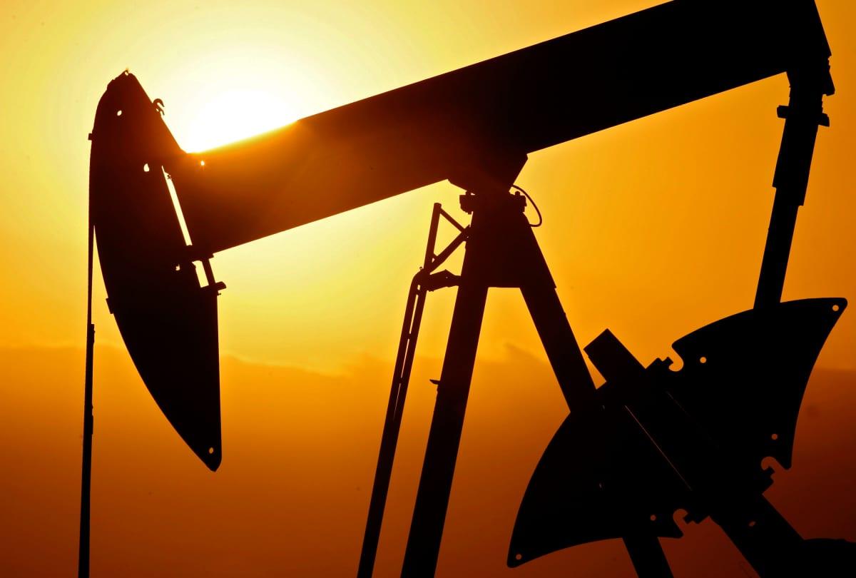 Öljypumppu Ponca Cityssä, Oklahomassa.