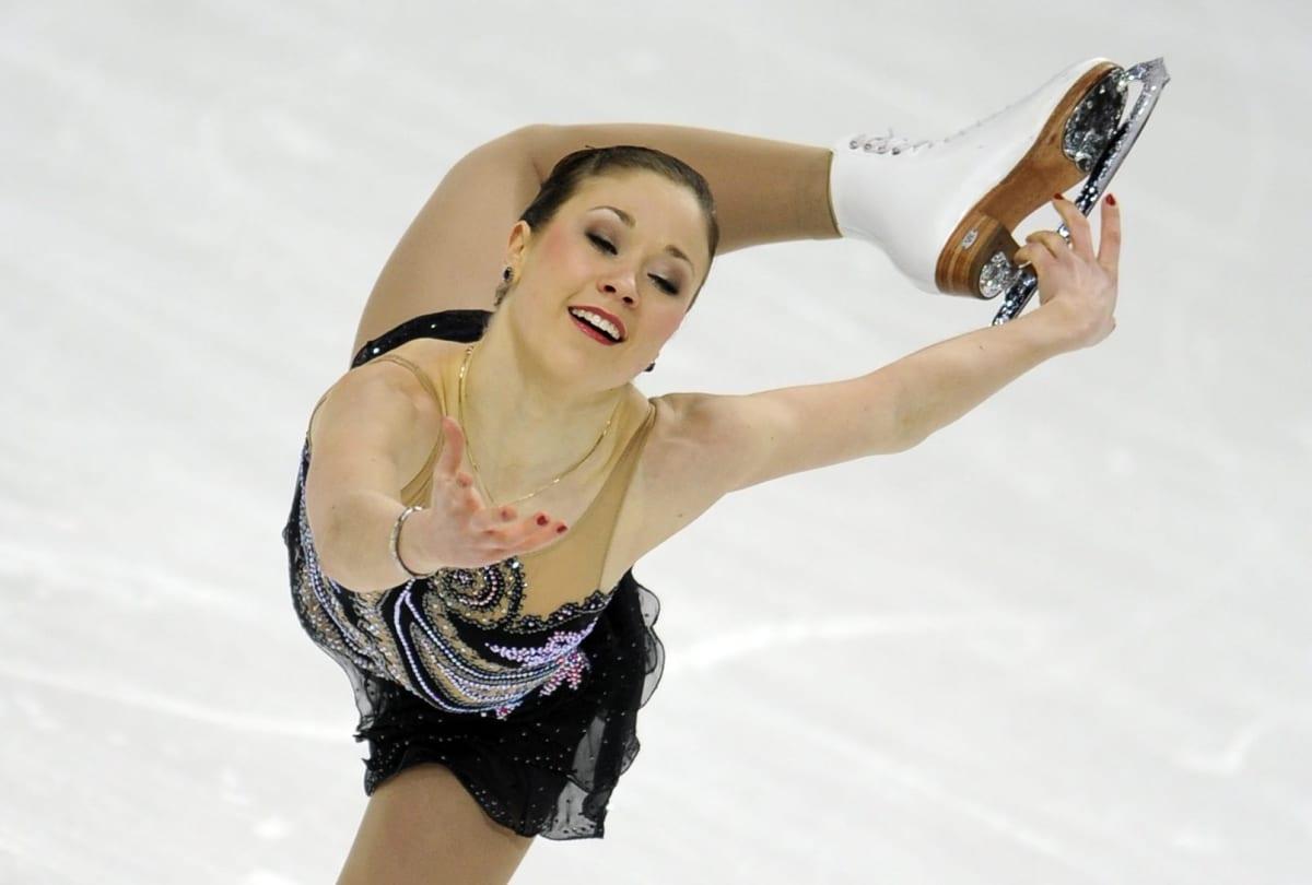 Laura Lepistö luistelee EM-kisoissa 2009