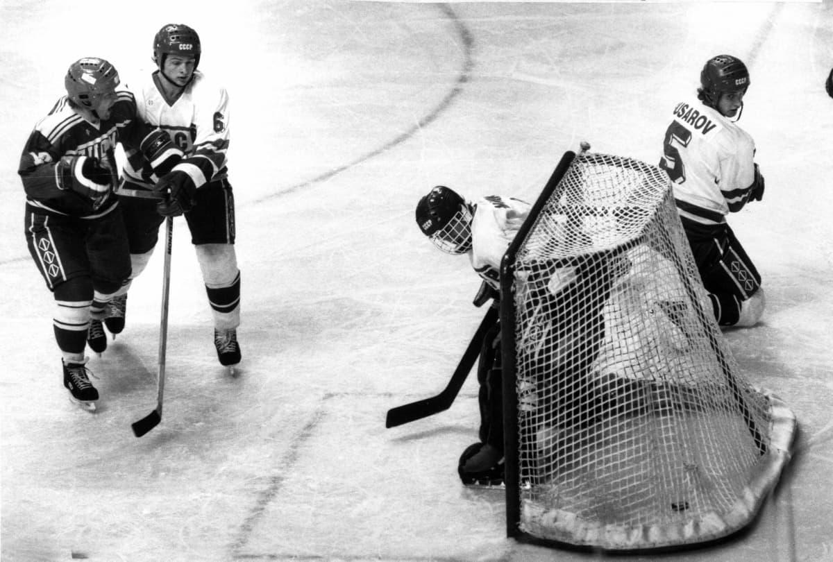 Erkki Laine Suomi-Neuvostoliitto Calgary 1988