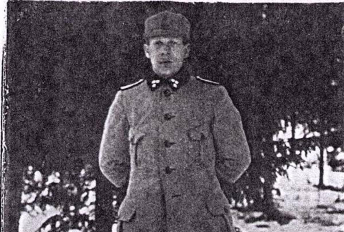 Ylistaron valtausjoukkojen päällikkö Ahto Sippola