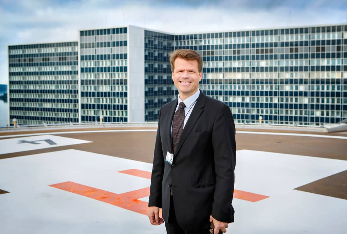 Turvallisuus- ja valmiusjohtaja Aaro Toivonen.