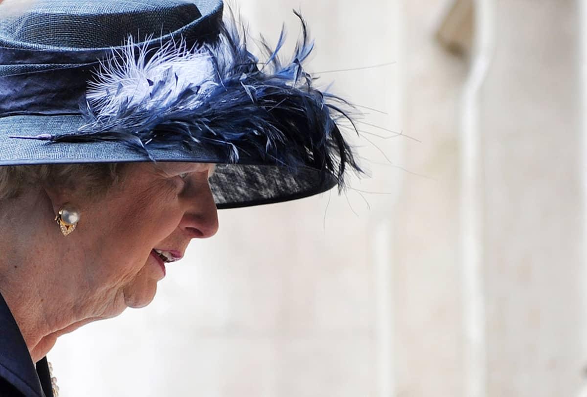 Margaret Thatcher vuonna 2009.