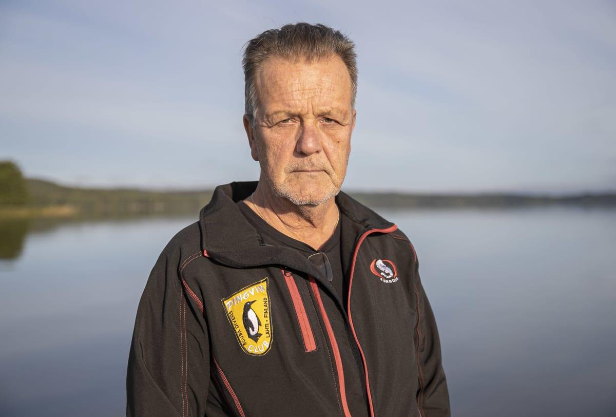 Lahden Pingviininen puheenjohtaja Sakari Nieminen.