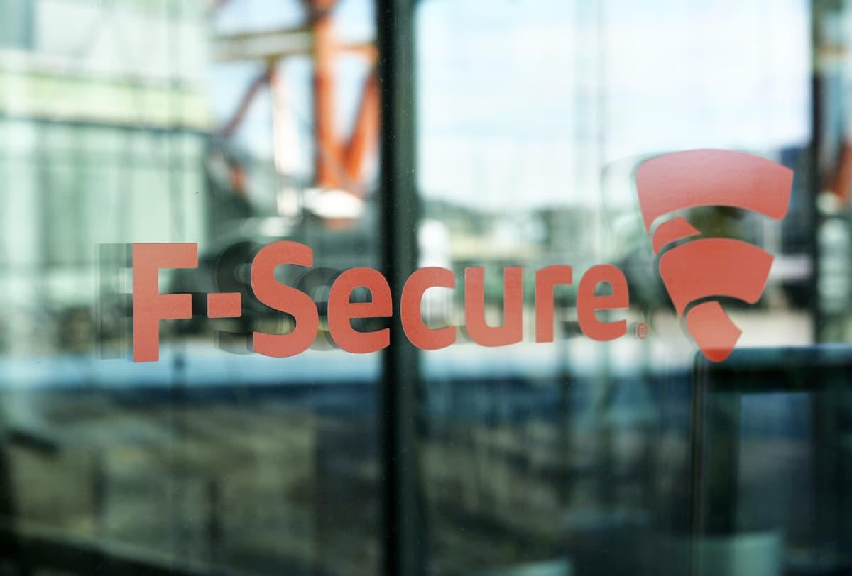 F-securen logo ovessa