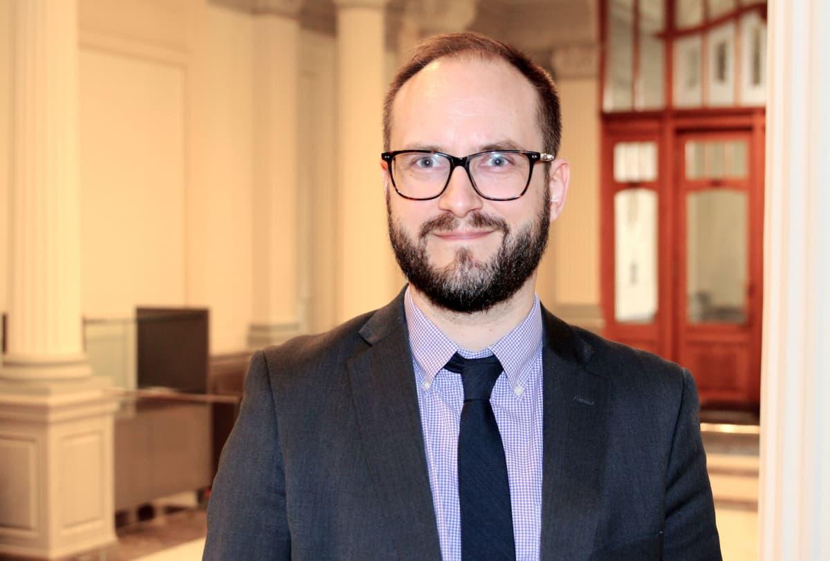 Suomen Pankin vanhempi ekonomisti Kimmo Koskinen.