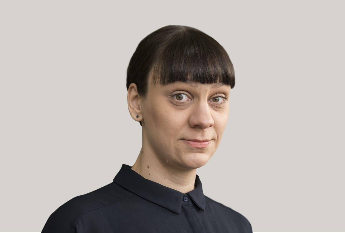 Toimittaja Jenny Matikainen.