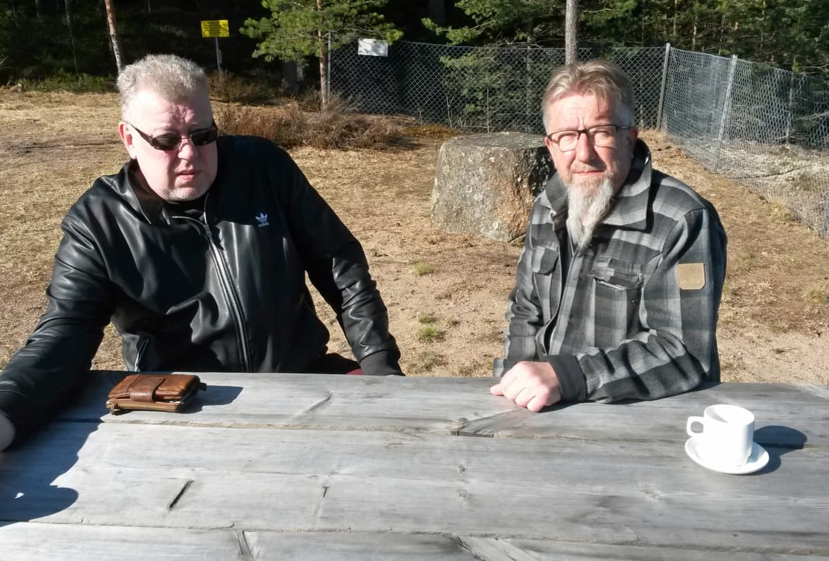 Kari Stenman ja Juha Hirvi