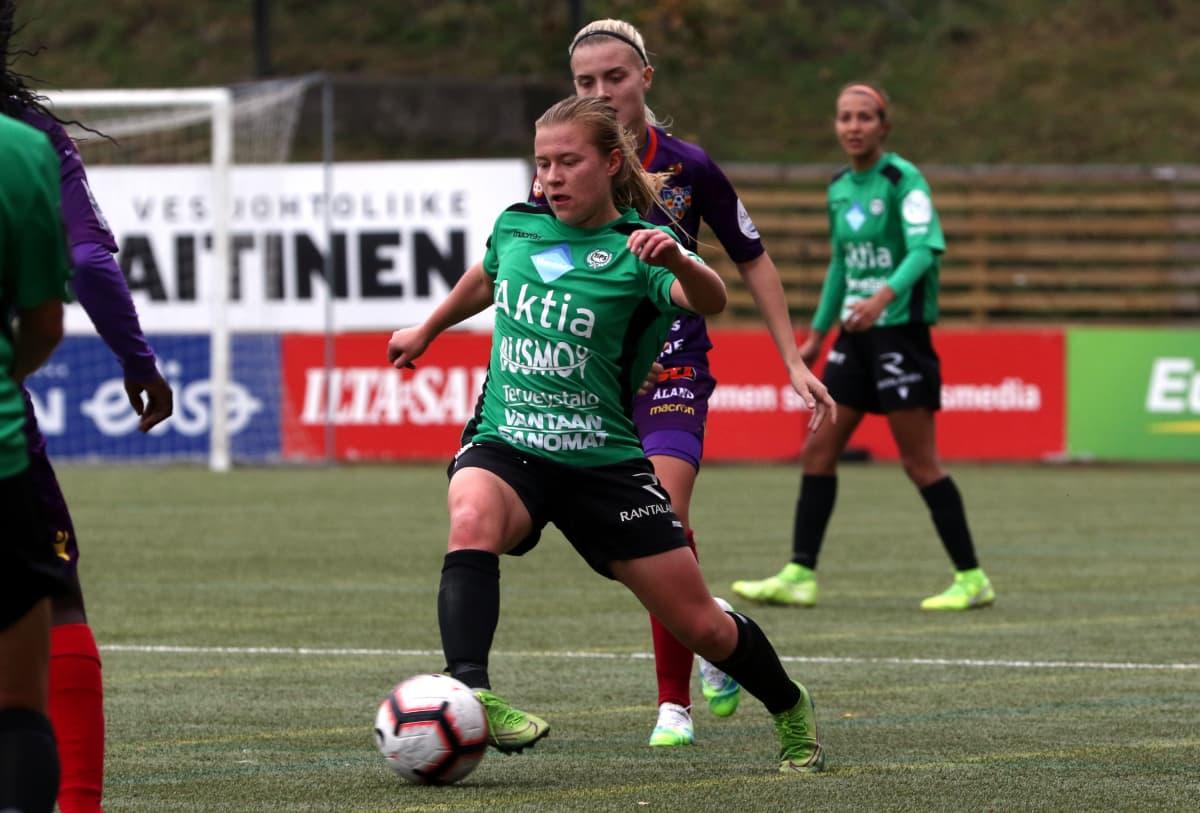 Oona Siren, TiPS, Åland United