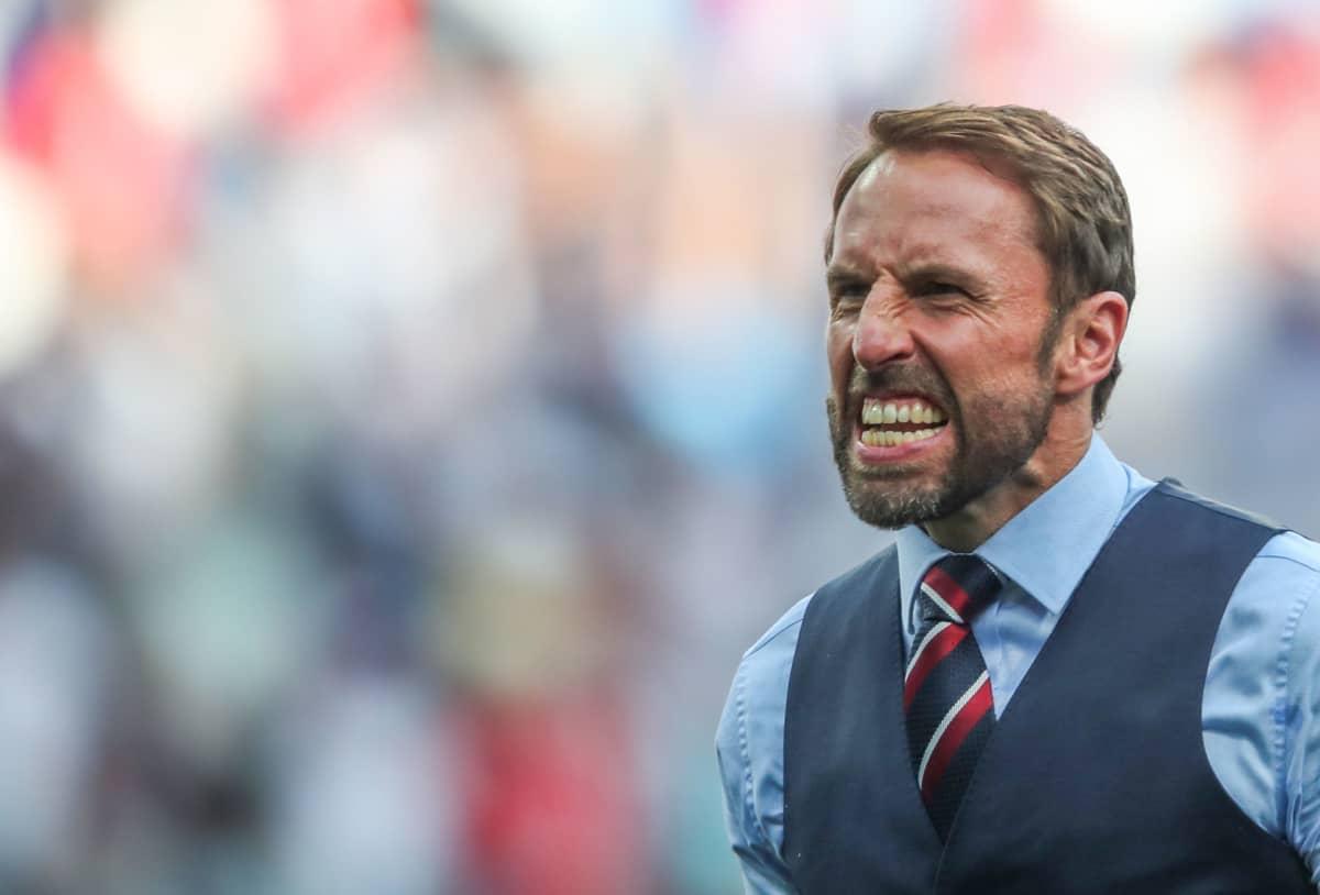 Englannin manageri Gareth Southgate.