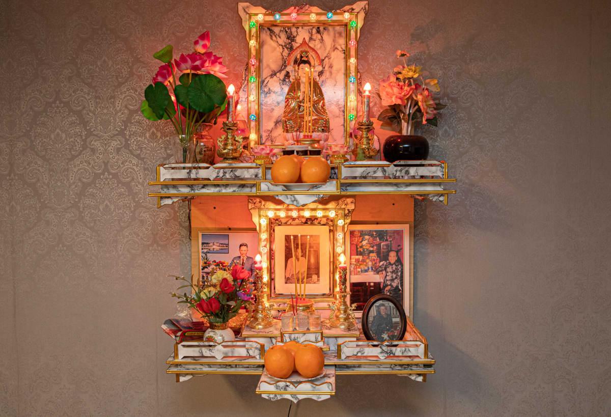 Buddhalainen kotialttari