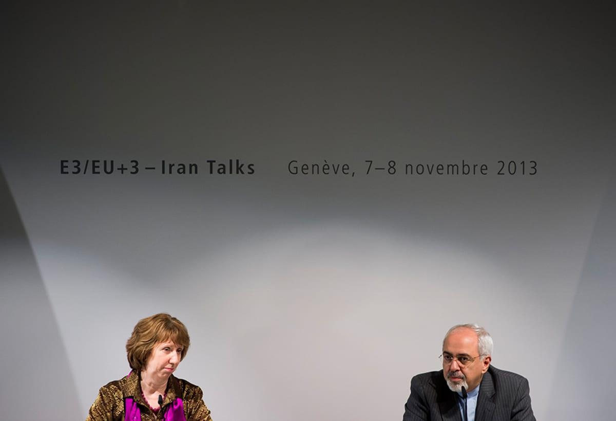 Catherine Ashton ja Mohammad Javad Zarif