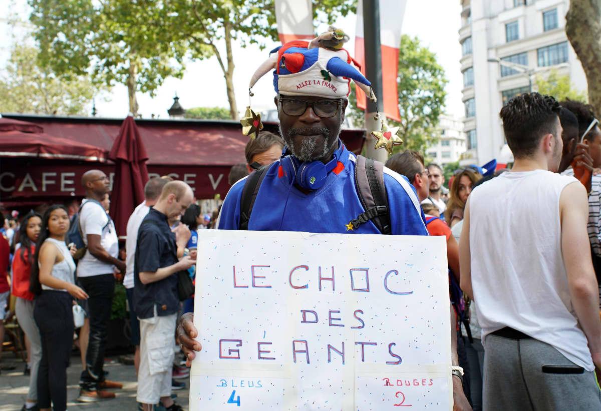 Ranskalaiset iloitsivat jalkapallon MM-kullasta