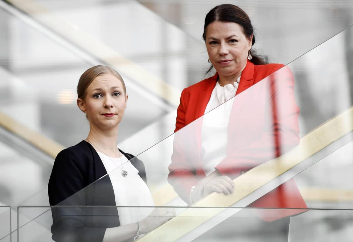 Minna Passi ja Susanna Reinboth