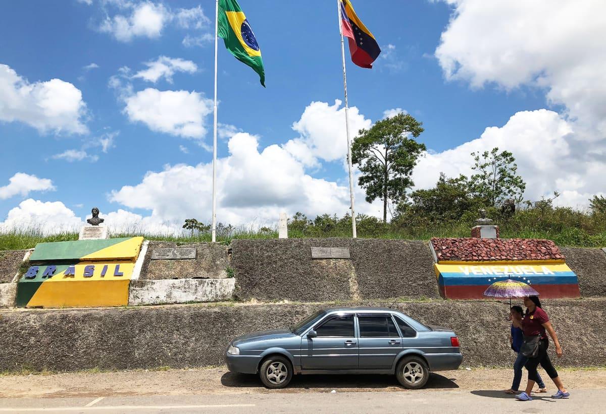 Brasilian ja Venezuelan välinen raja