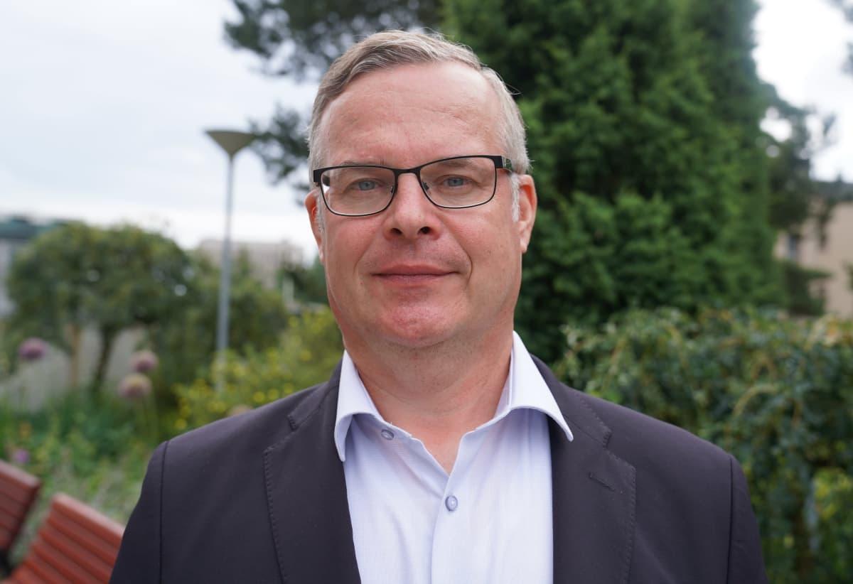 Lasse Lehtonen Diagnostiikkajohtaja Hus