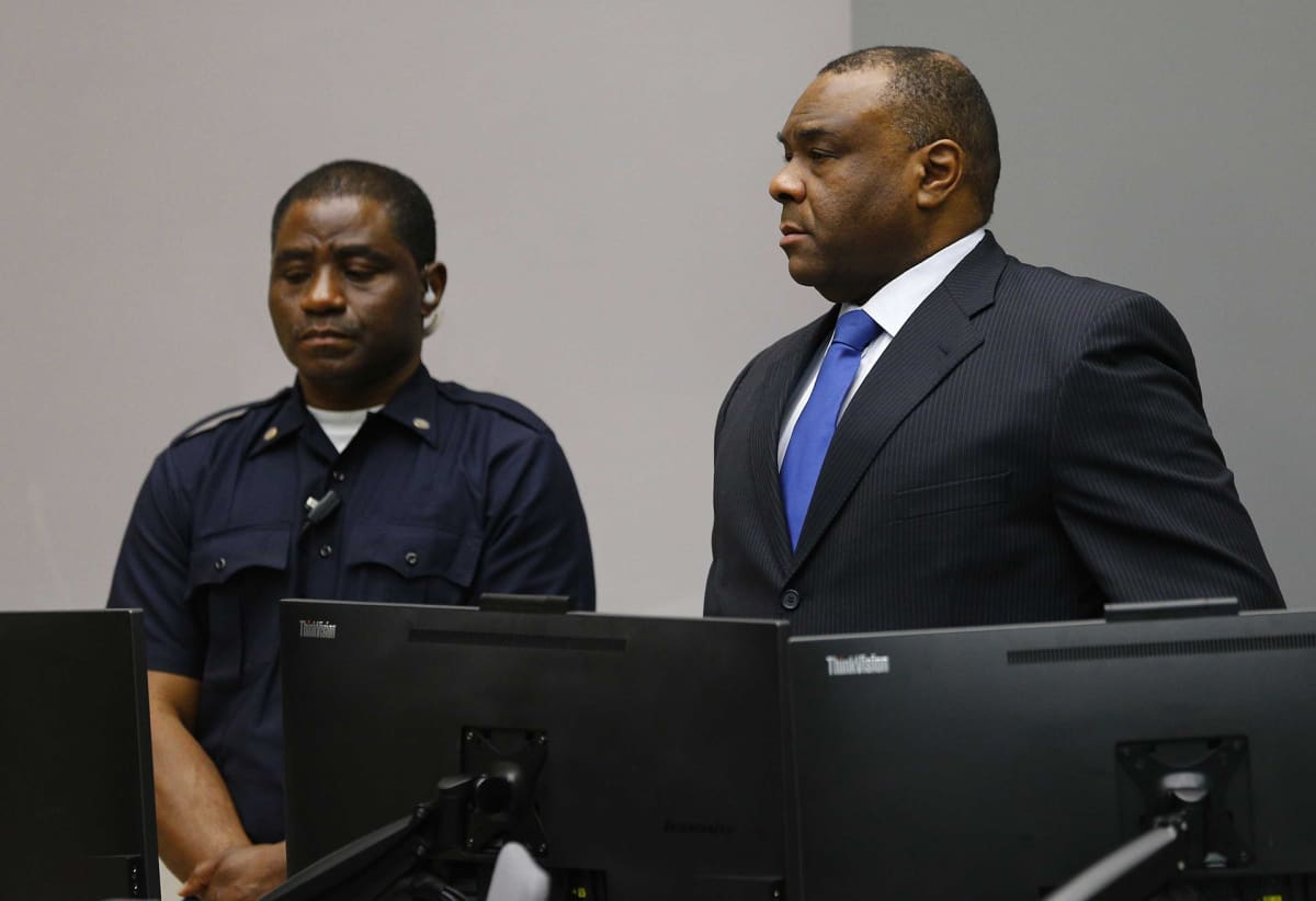 Jean-Pierre Bemba Gombo ja vartija
