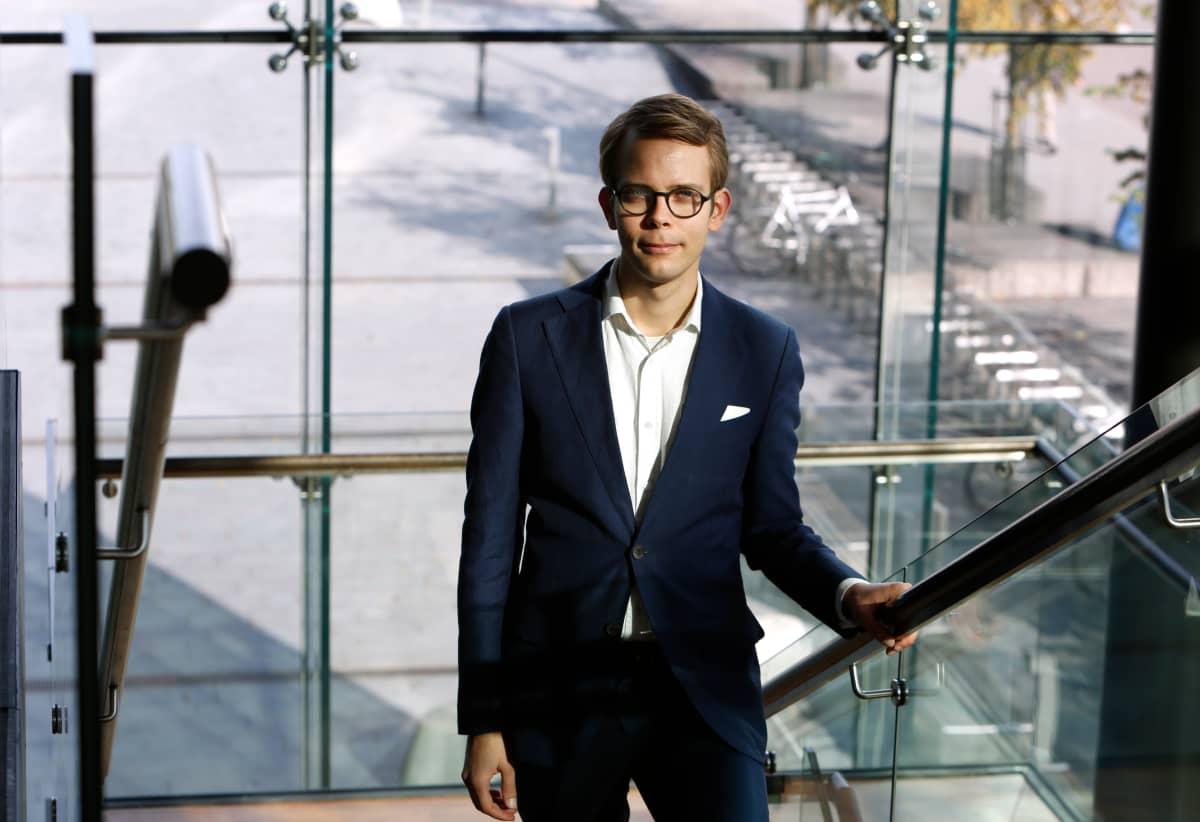 Helsingin kaupunginorkesterin intendentti Aleksi Malmberg