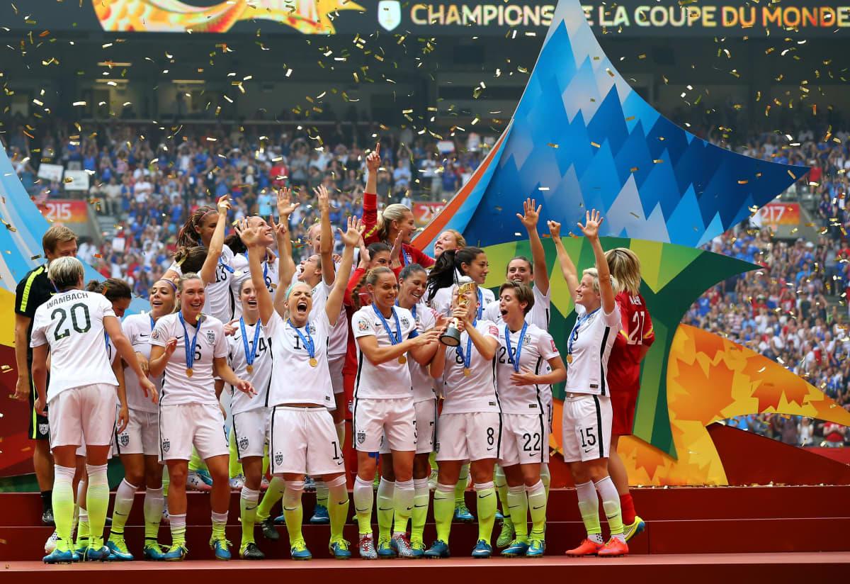 Usa naisten jalkapallomaajoukkue