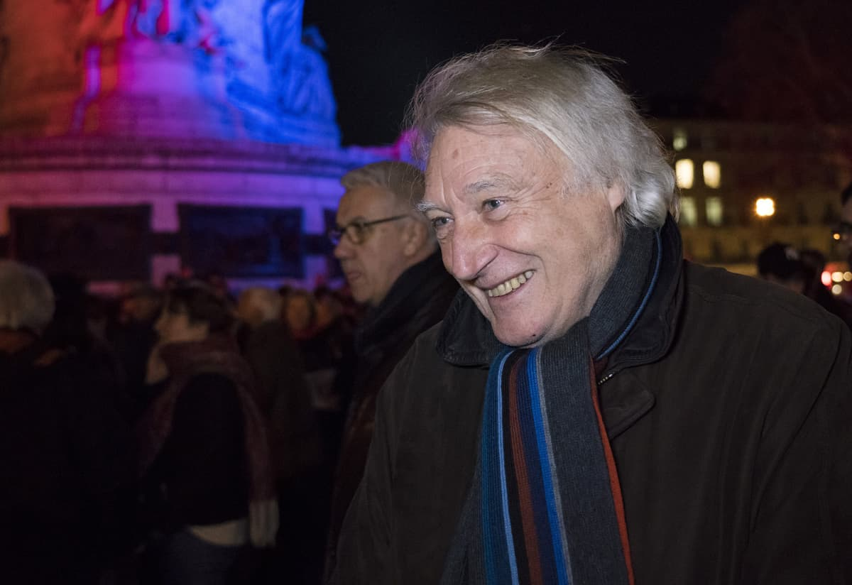 Pariisilainen Jean Foucrier tuomitsi tiukasti kaikenlaisen väkivallan ja vihapuheen.