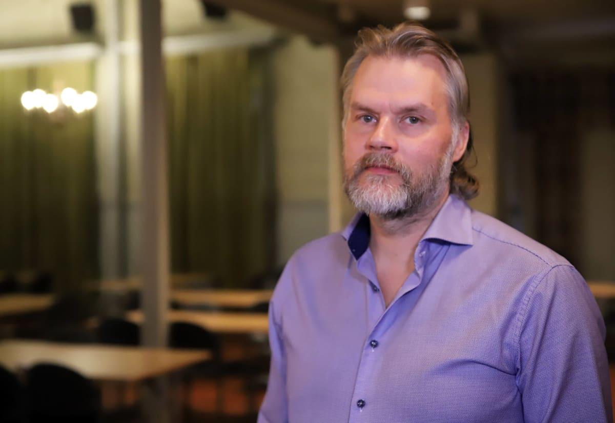 Sysmän kunnanvaltuuston puheenjohtaja Mika Järvinen