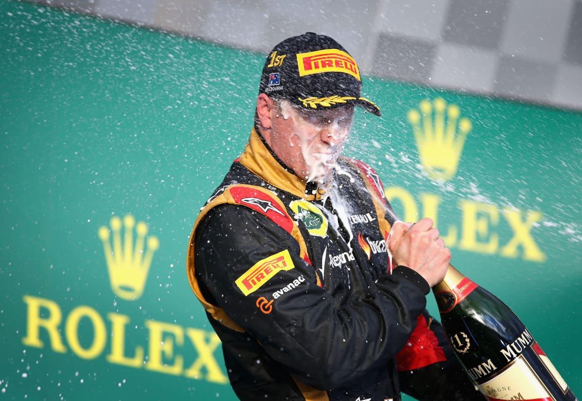 Kimi Räikkönen Lotus 2013 Australia