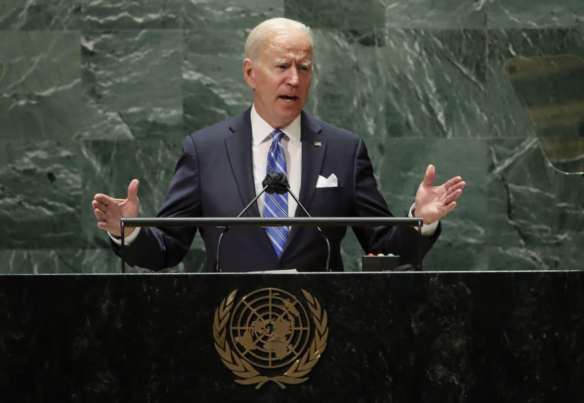 Yhdysvaltain presidentti Joe Biden vakuutti pitävänsä liittolaisuuksia arvossaan.