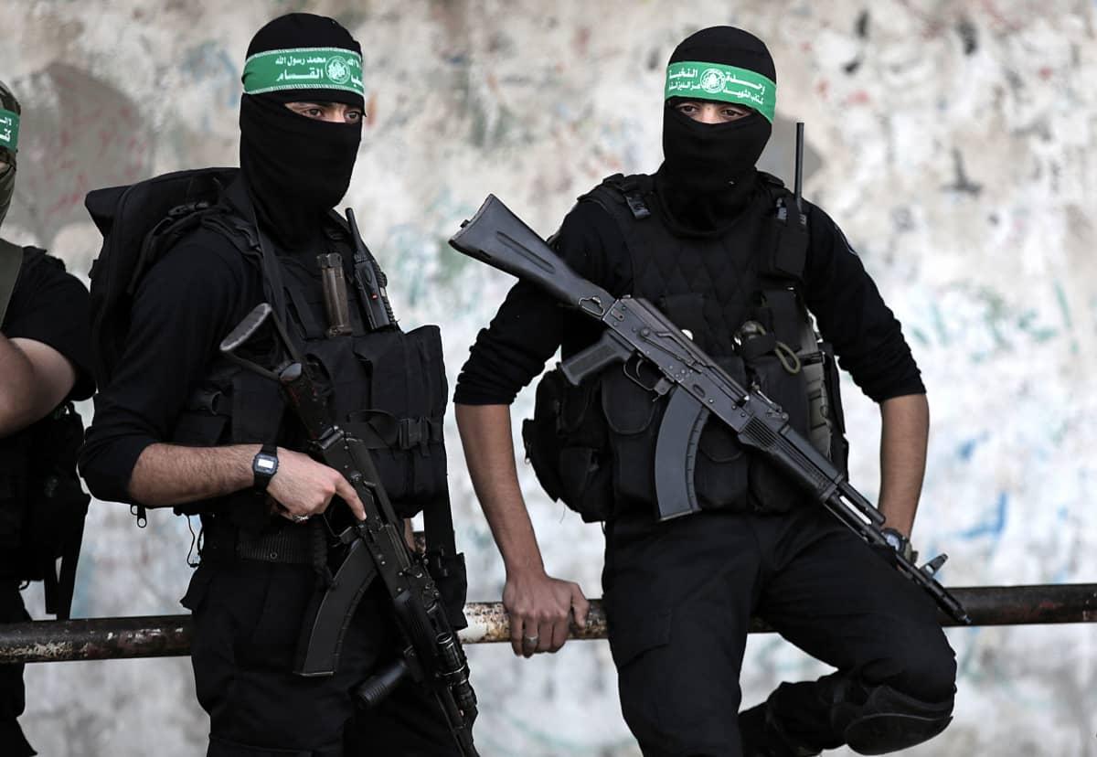 Hamasin aseellisen siiven, Qassamin prikaatien sotilaita