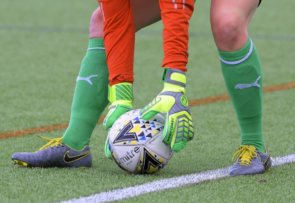 Jalkapallo kuvitus naiset