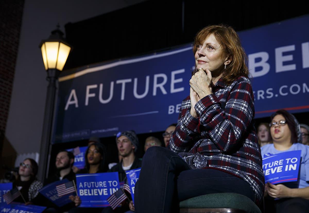 Näyttelijä Susan Sarandon.