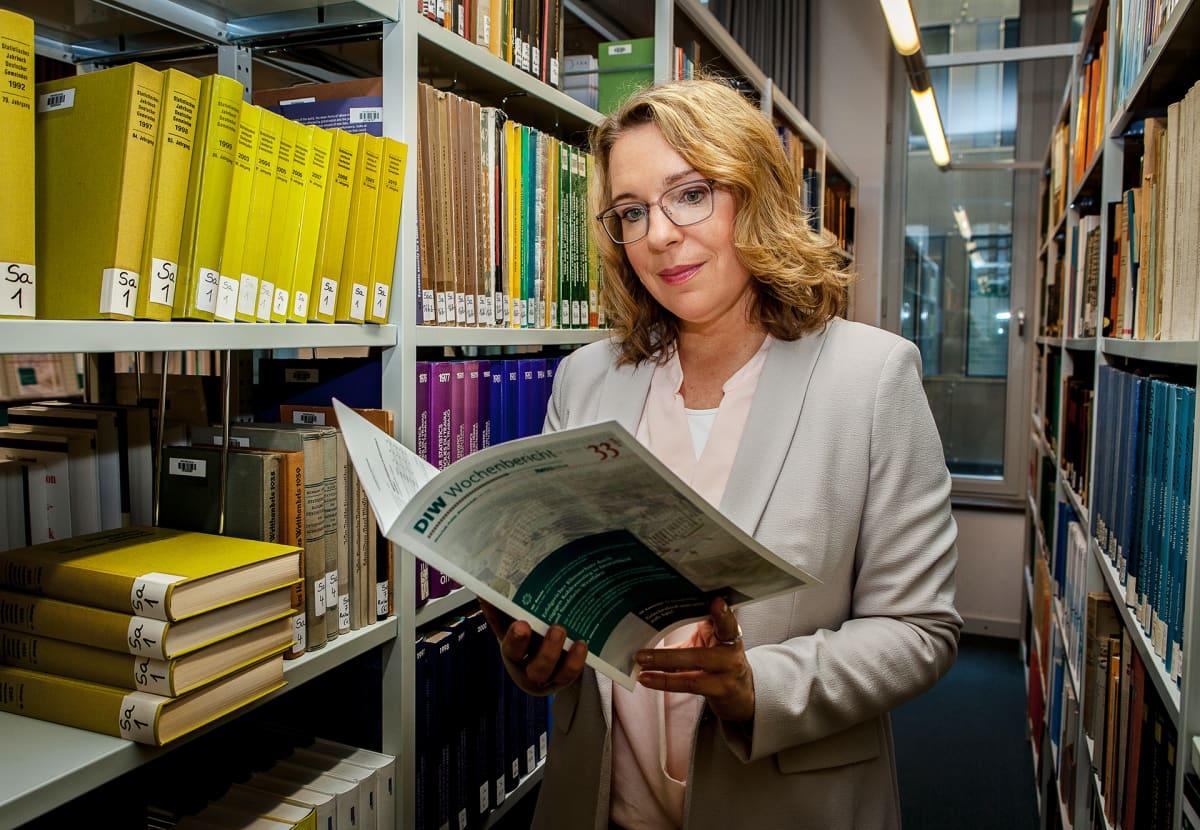 Energiatalouden professori Claudia Kemfert