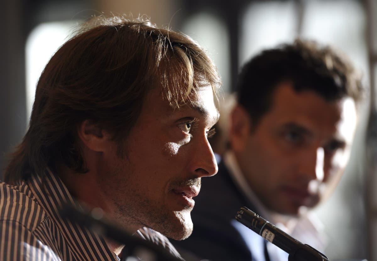 Teemu Selänne ja Roman Rotenberg