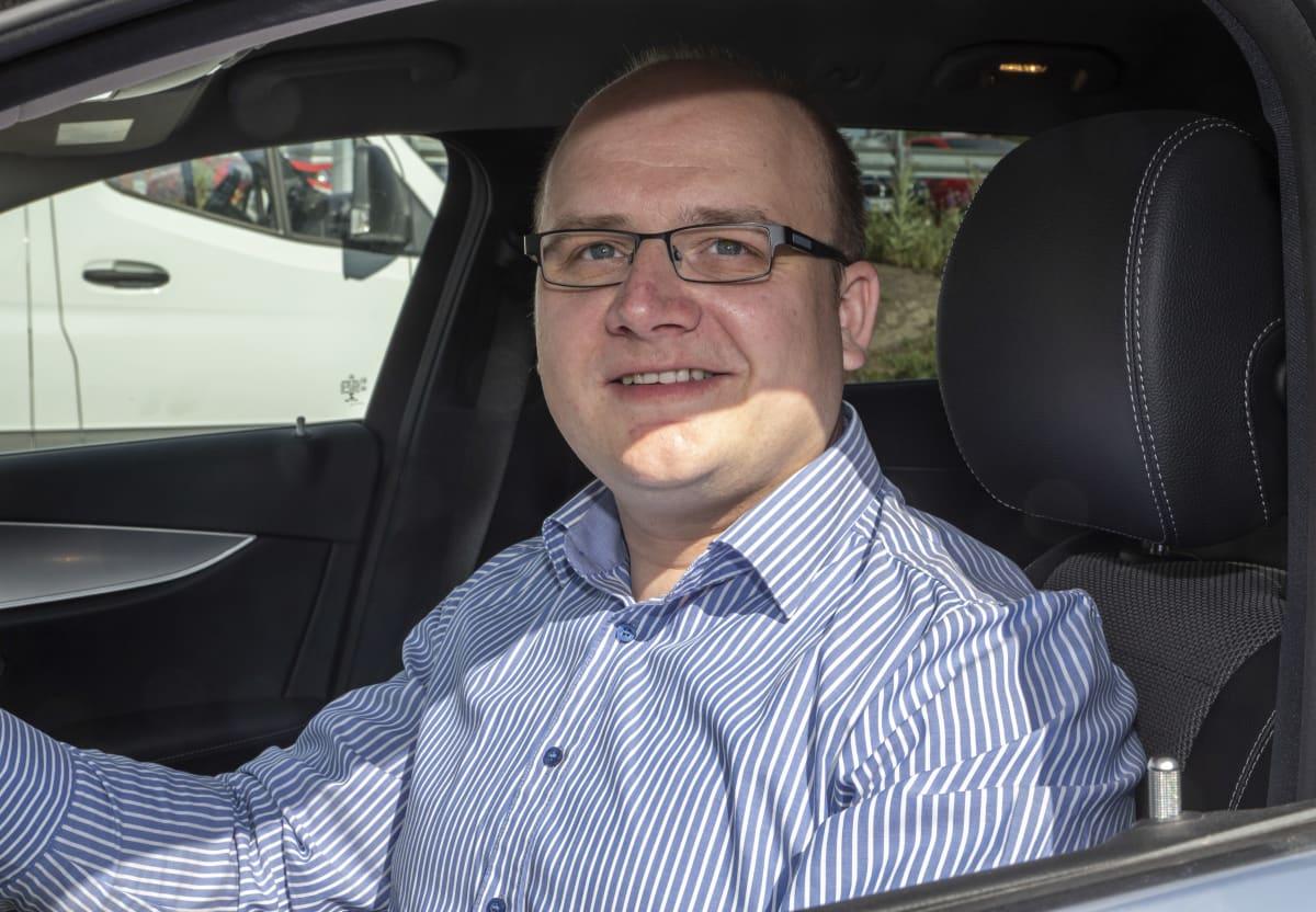 Tuomas Valta / sixt /  myyntijohtaja / vuokra autojen suosio / Helsinki 29.06.2020