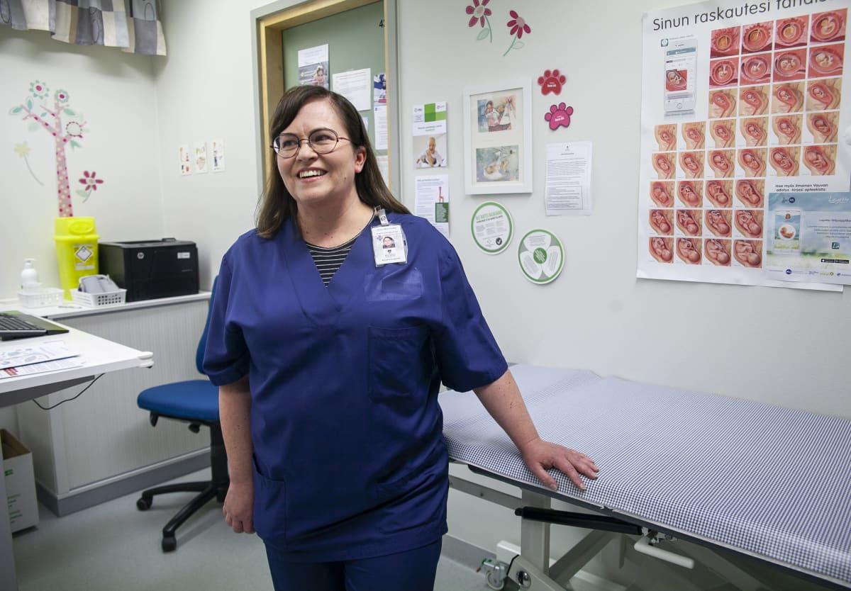 Anne-Mari Gröhn, terveydenhoitaja, Kuopion kaupunki