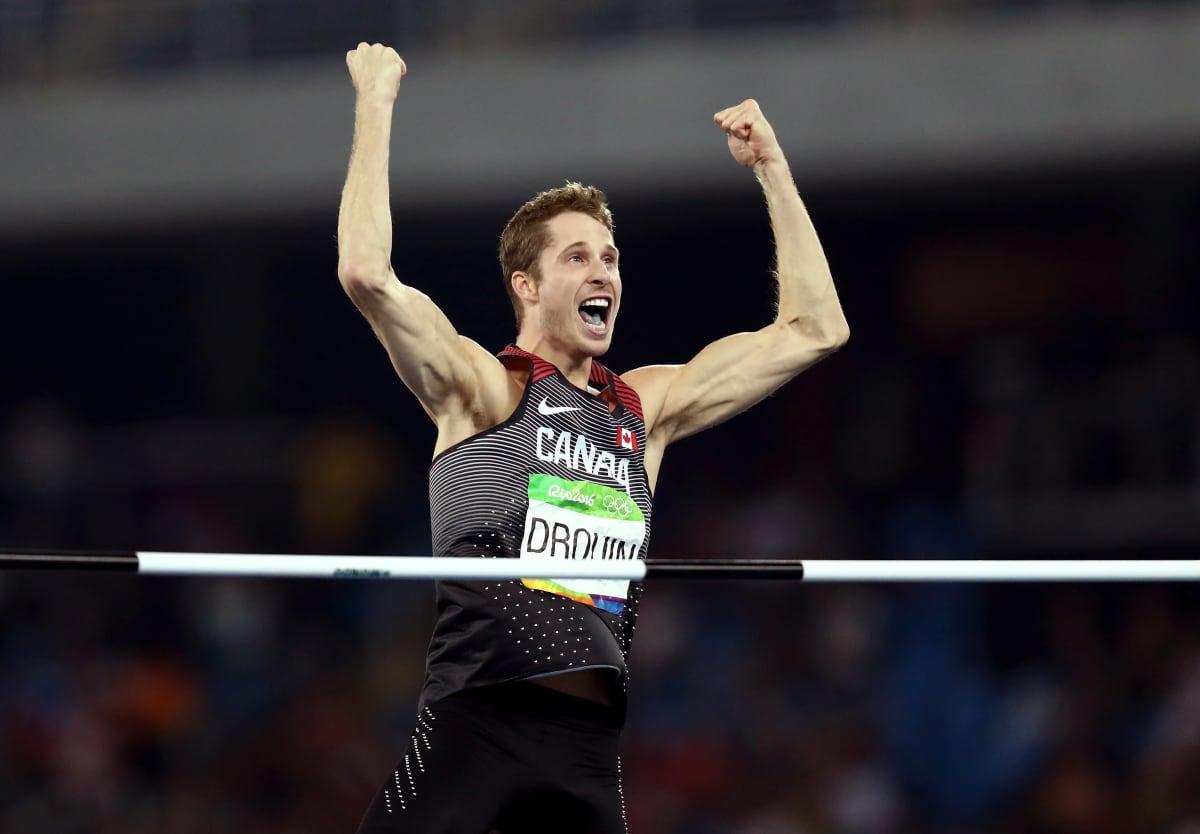 Derek Drouin voitti korkeushypyn kultaa Rion olympialaisissa tuloksella 238.