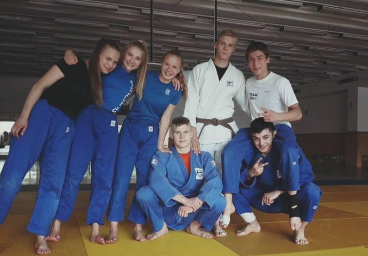 Judon U18-maajoukkue vuonna 2017