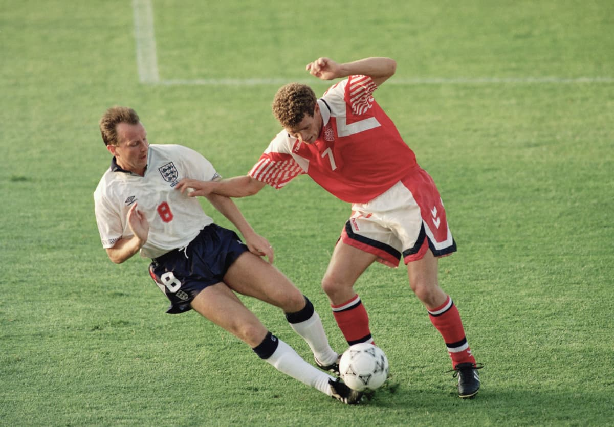 John Jensen EM-kisoissa 1992