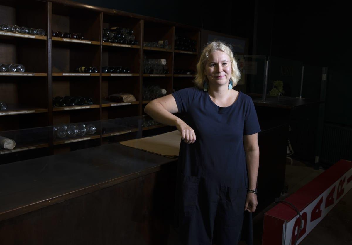 Hotelli- ja ravintolamuseon johtaja Anni Pelkonen.