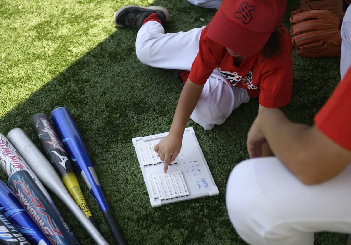 Baseball on tilastolaji. Myös oman joukkueen harjoituspelistä on hyvä pitää kirjaa.