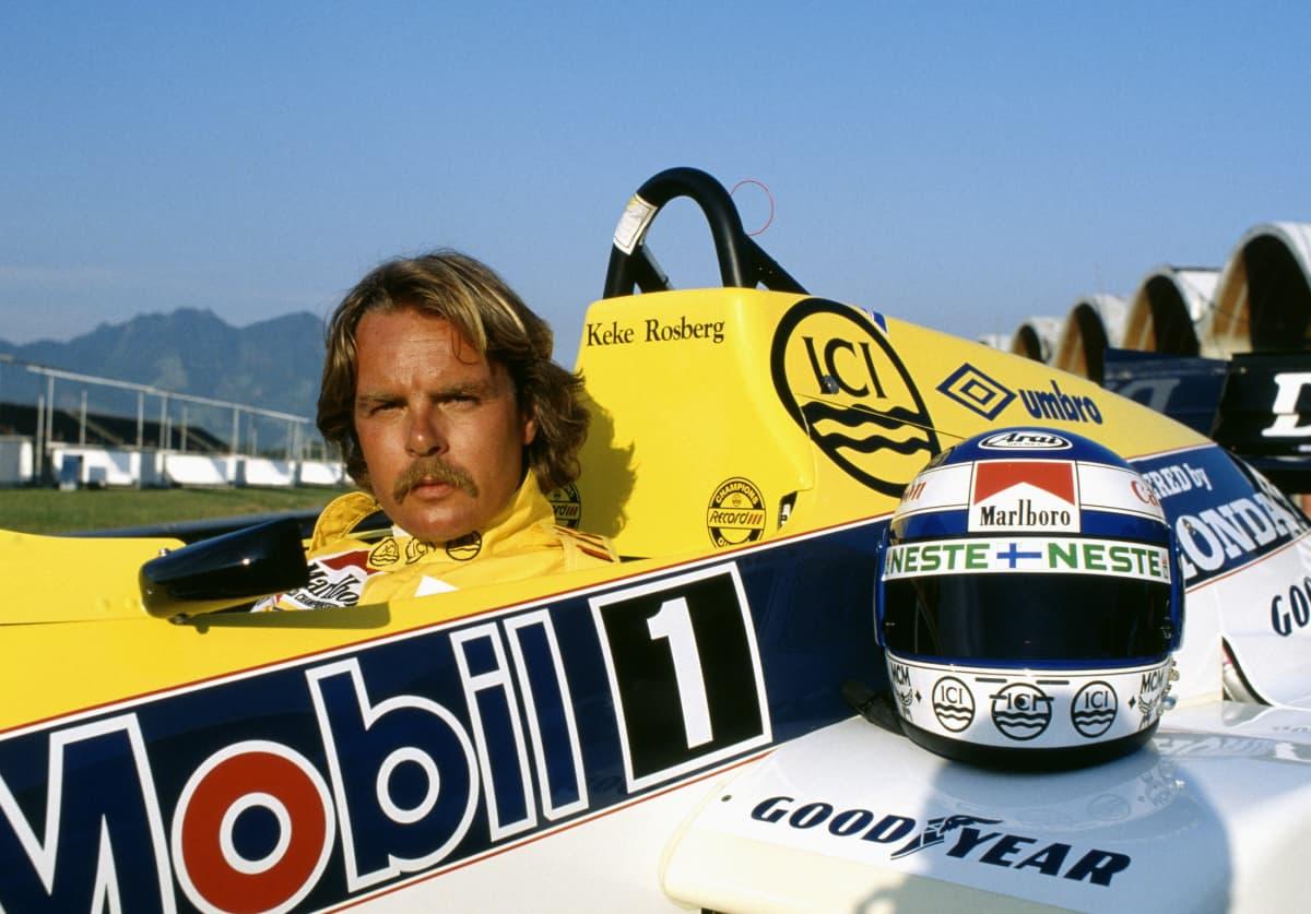 Keke Rosberg F1-autossa.