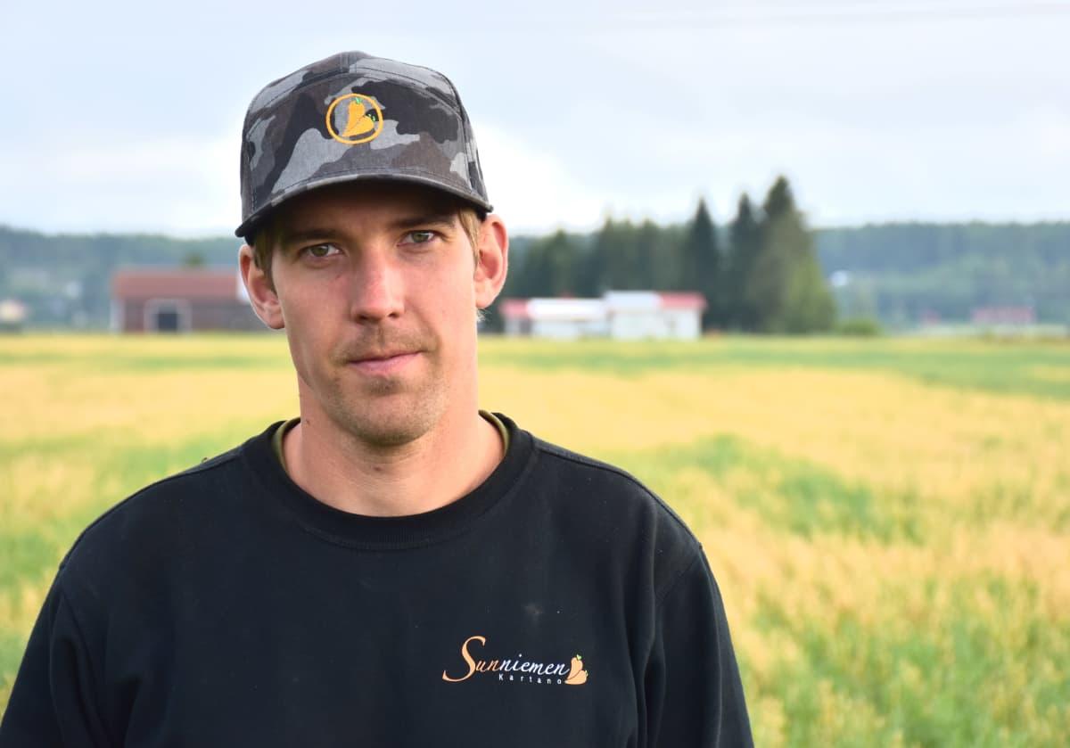 Maanviljelijä Toni-Anton Mattila