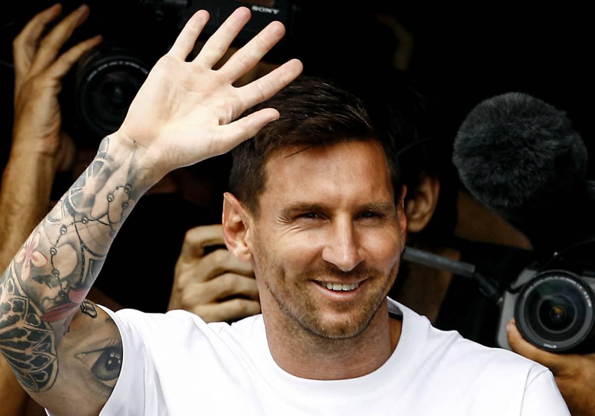 Lionel Messi, Pariisissa 10.8.2021