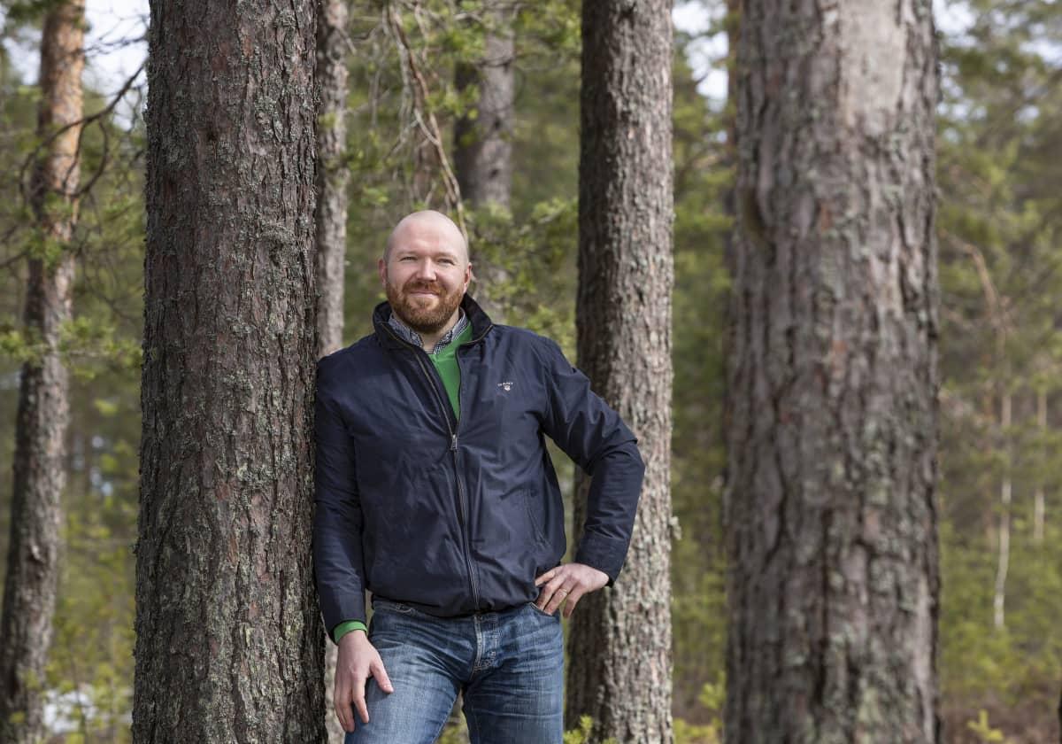 Maatalous- ja metsätieteiden tohtori Antti Kilpeläinen sai kärkiapurahan.