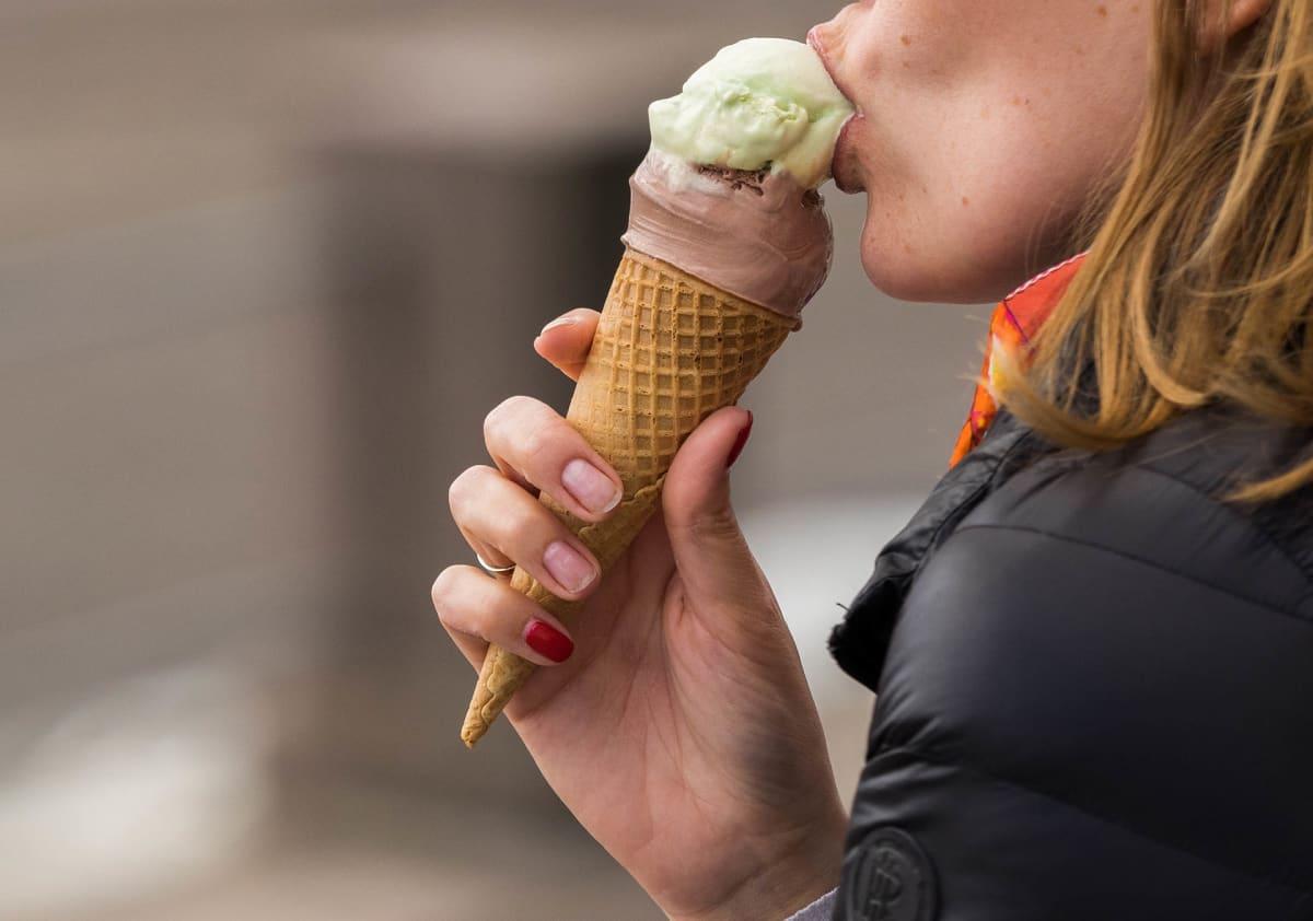On jäätelö hyvää kun yksin syö.