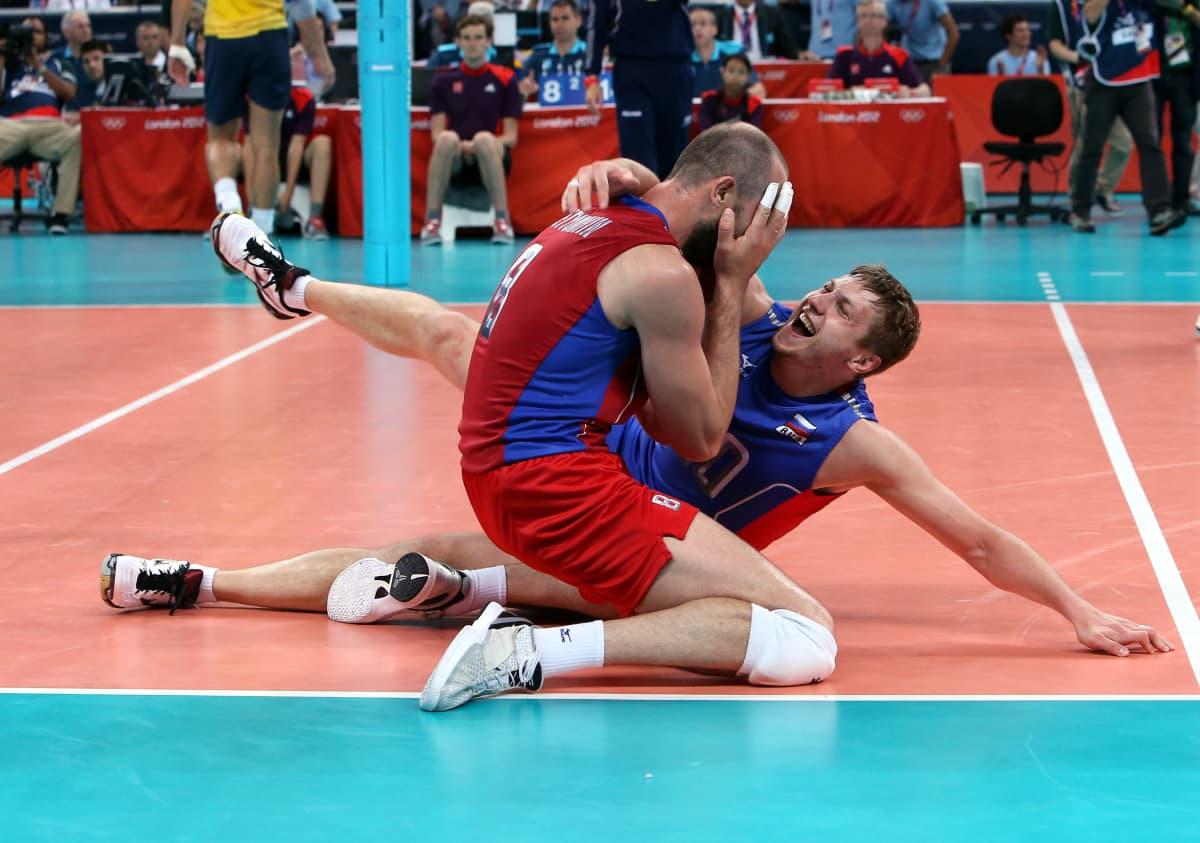 Sergei Tetjuhin juhli uransa ensimmäistä ja ainoaksi jäänyttä olympiavoittoa Lontoossa 2012.